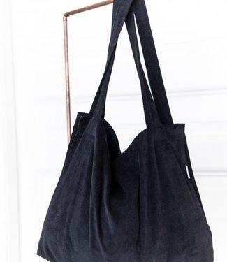 Local Attic Tote Bag washed Black 45 x 62cm