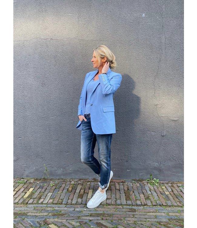 Total Blue Look