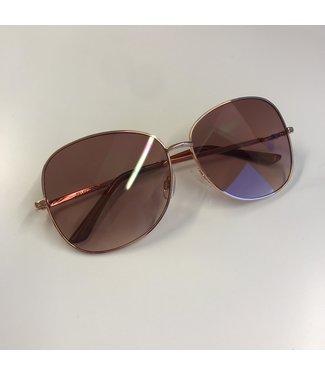 Selected Tanya Sunglasses Gold Colour