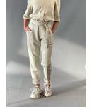Est'Seven Est'Ruffle trouser Leather