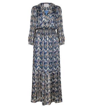 Dante 6 Bardon Aztec print long dress