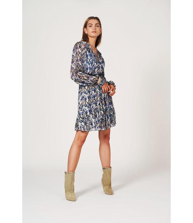 March aztec print dress