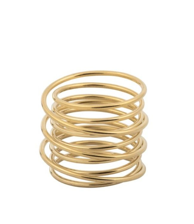 Ring gouden cirkels