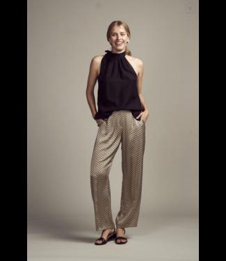 Femmes du Sud Nimes Retro Trouser Silk