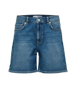Selected Medium Blue Denim Shorts U