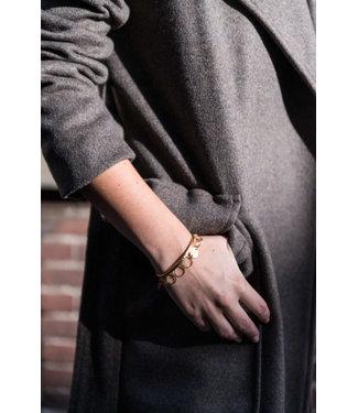 Ellen Beekmans Armband grote ronde schakel