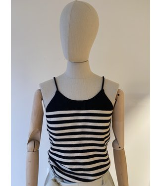 Selected Elina Knit Top Stripe