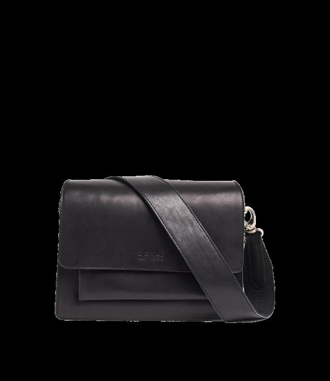 Omybag Harper Bag Black Classic leather