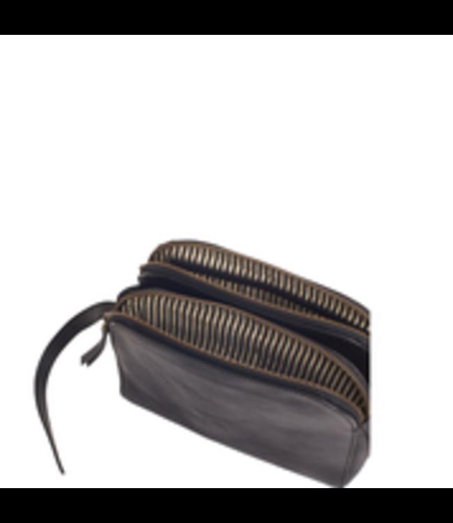 Emily Black Stromboli leather