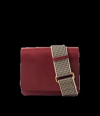 Omybag Audrey mini Ruby classic leather