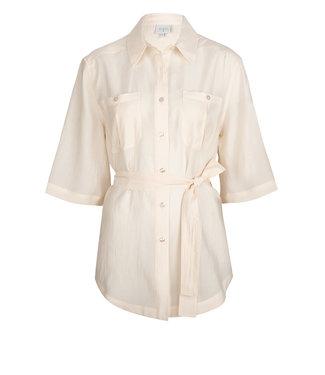 Dante 6 Radical belted blouse Powder