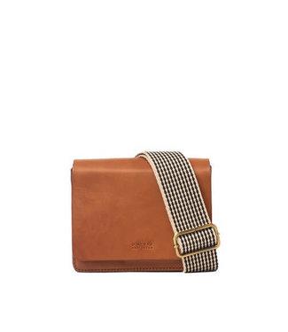 Omybag Audrey mini Cognac classic leather
