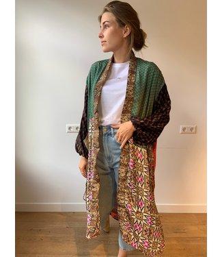 Sissel Edelbo Morning Glory long pocket kimono mix
