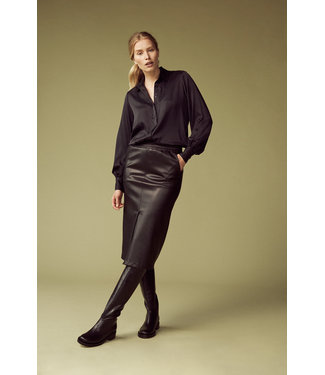 Femmes du Sud Ninette Skirt Vegan Leather