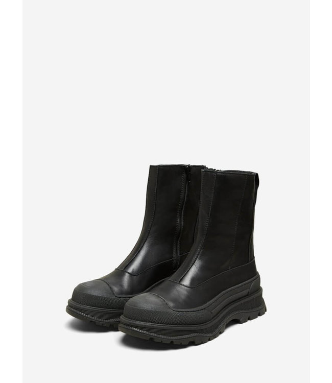 Selected Luna Leather Boot