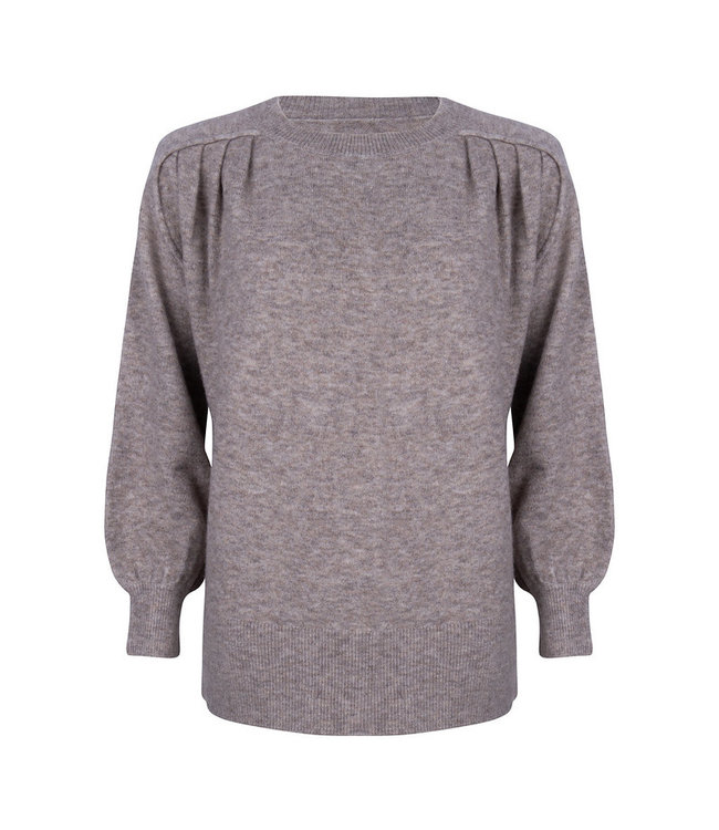 Vea Round Neck Knitted Pull