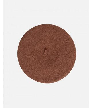 Moss Copenhagen Beret Hat Brownie