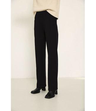 Knit-ted Floor Pants Black