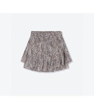 Alix The Label Ladies Woven Dots Animal Skirt