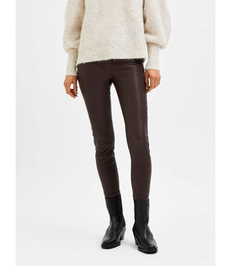 Selected Sylvia Stretch Leather Legging