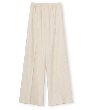 Graumann Line Pants Viscose Wool