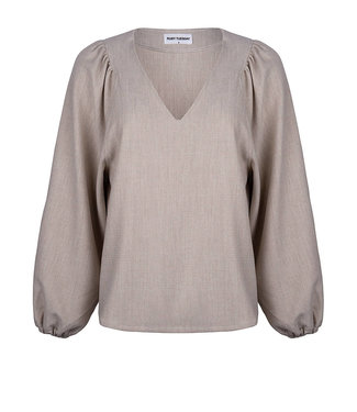 Ruby Tuesday Rhode Blouse With Angular Sleeve Insert
