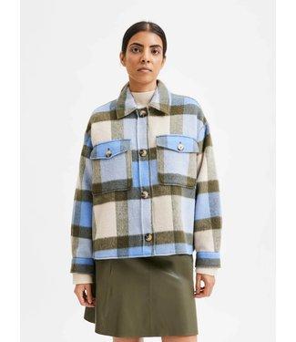 Selected Remi Check Shirt Jacket