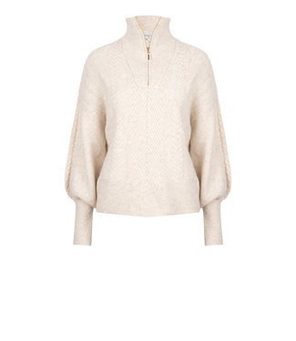 Dante 6 Yina Zip Cable Sweater
