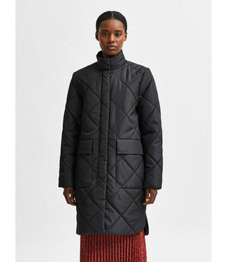 Selected Naddy Quilted Coat