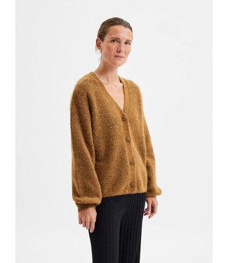 Selected Sif Kaya LS Knit Cardigan