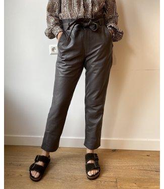 Est'Seven Est'Ruffle Pants Nappa Grey