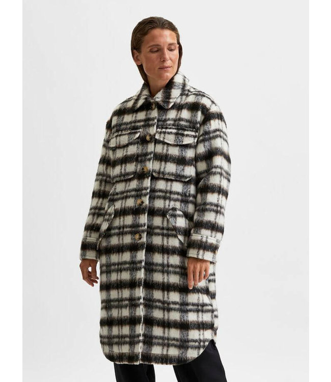 caron wool jacket selected