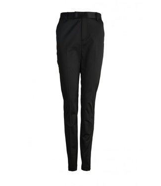 Femmes du Sud Macy Satin Trouser Black