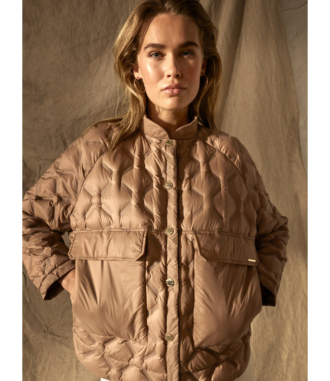 Khaite Quilted Down Jacket