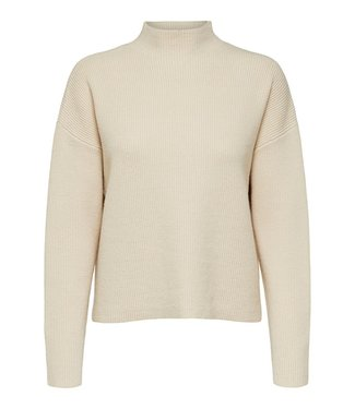 Selected Claire LS Knit Highneck