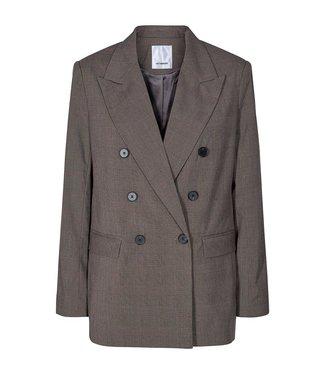 Co'couture Mica oversized check blazer