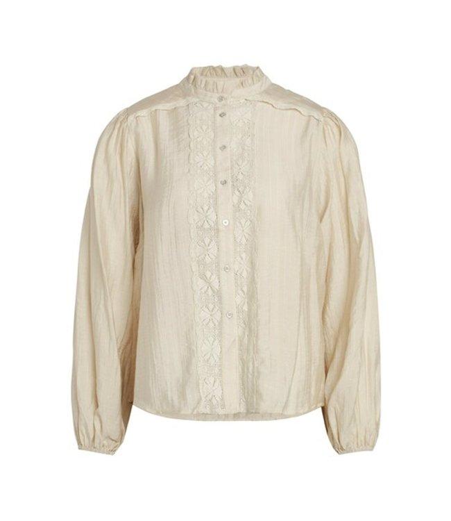 Lisissa Lace Shirt Bone