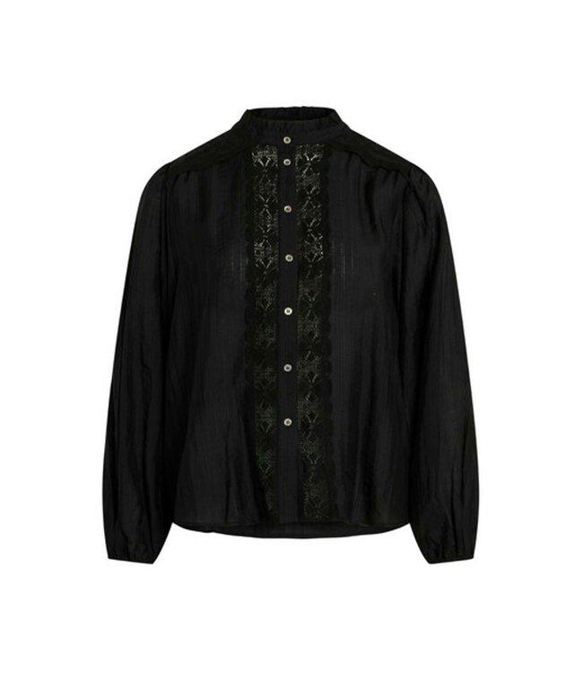 Lisissa Lace Shirt Black