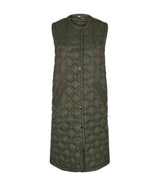 Mos Mosh Elvina Quilted Down Waistcoat