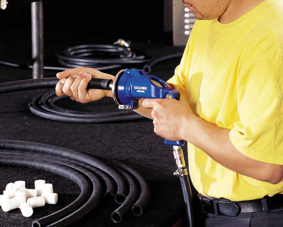 Dry Tube Cleaning (projectiles)