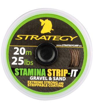 Strategy Stamina strip it gravel & sand