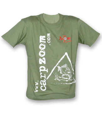 Carp Zoom Karper t shirt groen
