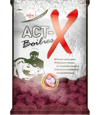 Carp Zoom Hot Spice Garlic Boilies Act-X