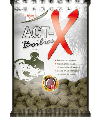 Carp Zoom Liver Boilies Act-X