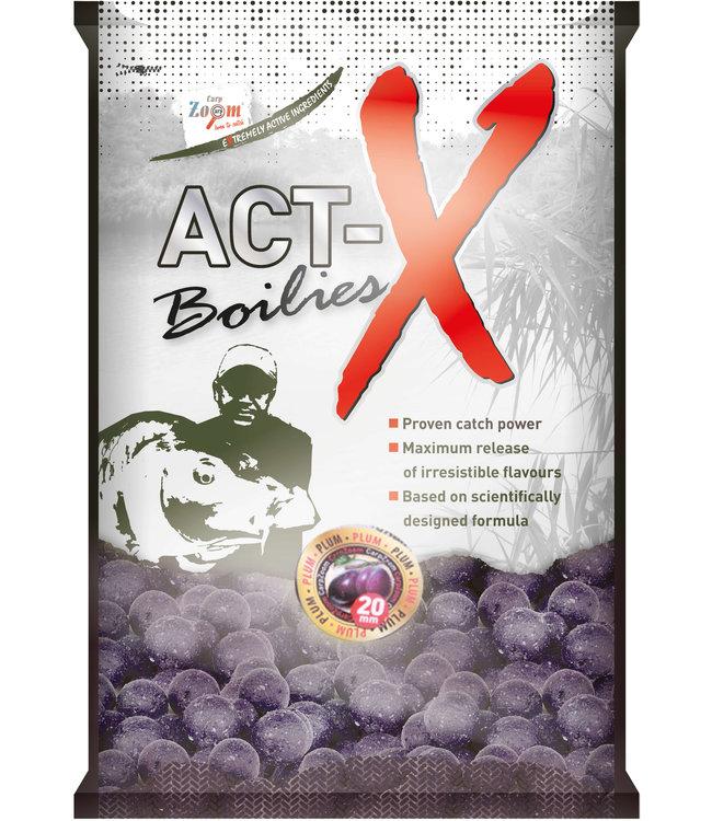 Carp Zoom Plum Boilies Act-X