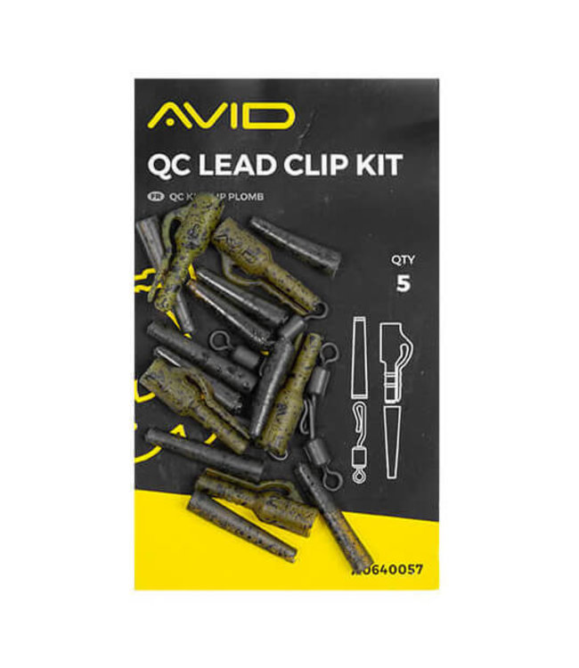 Avid Carp QC Lead Clip Kit