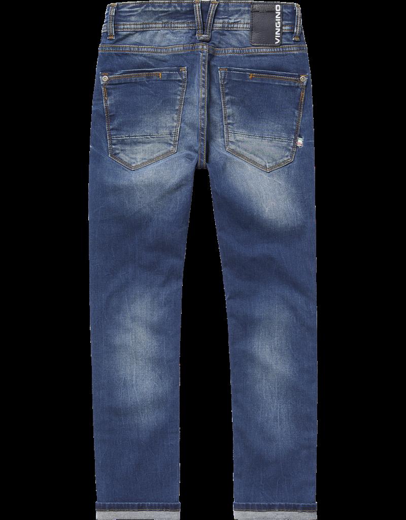 Vingino Jeans Apache Mid Blue Wash