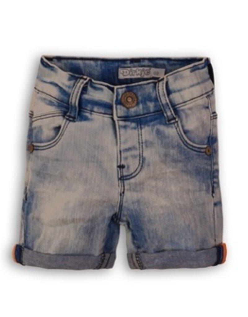Dirkje Baby jeans shortslight blue