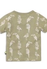 Dirkje Baby t-shirt light army green