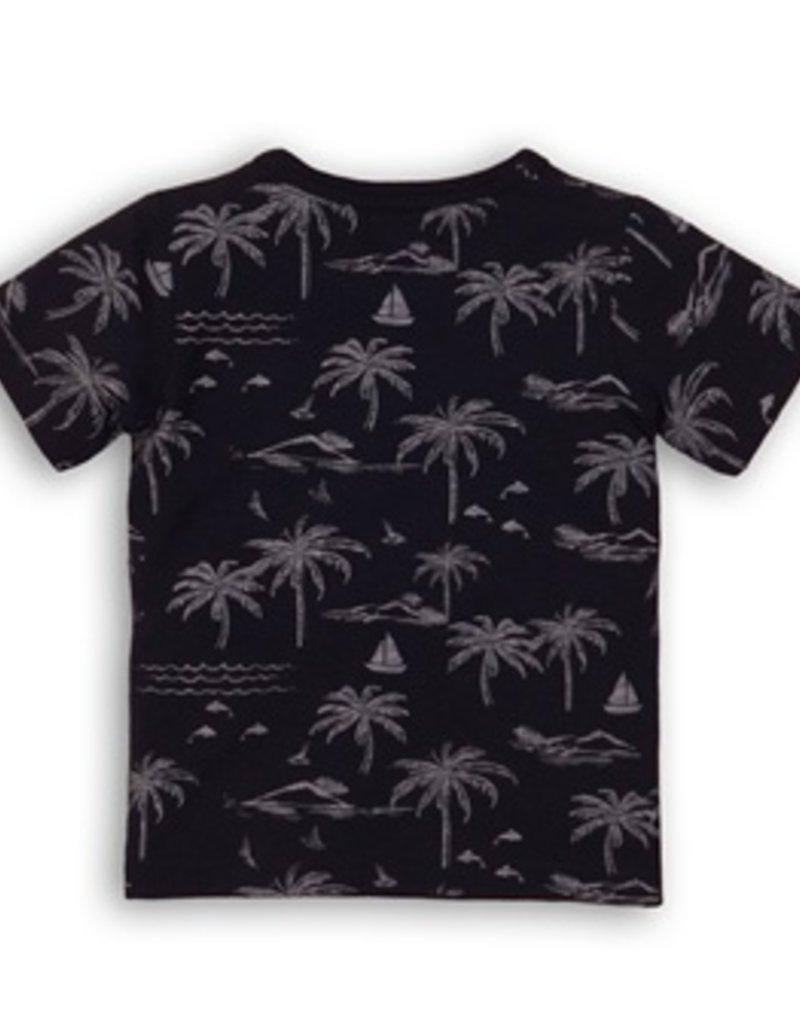 Dirkje Baby t-shirtnavy en aop